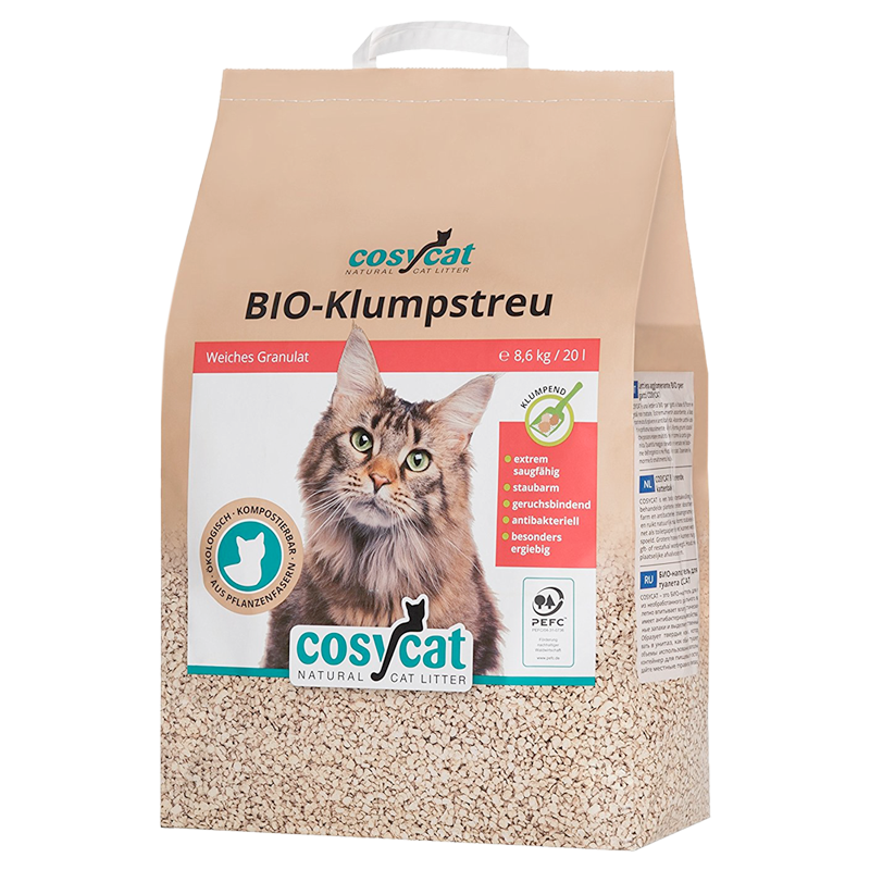 Buy the COSYCAT clumping cat litter on Amazon