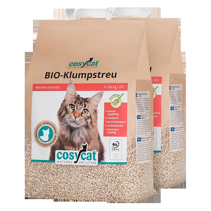 Bio-Katzenstreu COSYCAT auf ebay kaufen